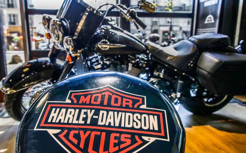 """""""Harley Davidson"""" istehsalın bərpa vaxtını açıqladı"""