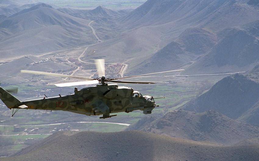 Pakistanda hərbi helikopter qəzası nəticəsində bir neçə nəfər həlak olub