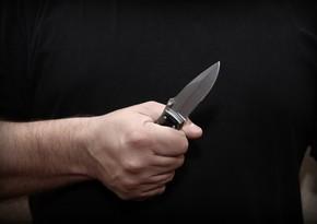 Sabirabadda 36 yaşlı kişi bıçaqlanıb