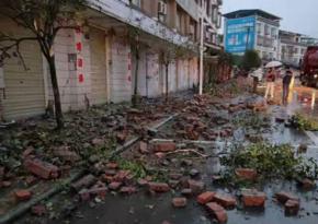 Число жертв землетрясения в Китае увеличилось до трех, пострадали 60 человек