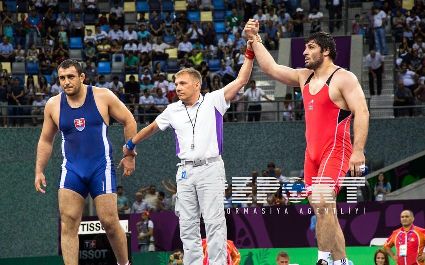 Azərbaycan güləş yarışının son günündə daha 3 medal qazanıb