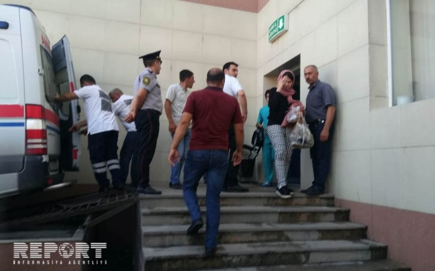 Четверо из пострадавших в Шеки отправлены на вертолёте в Баку - ВИДЕО - ОБНОВЛЕНО - 3 - ФОТО