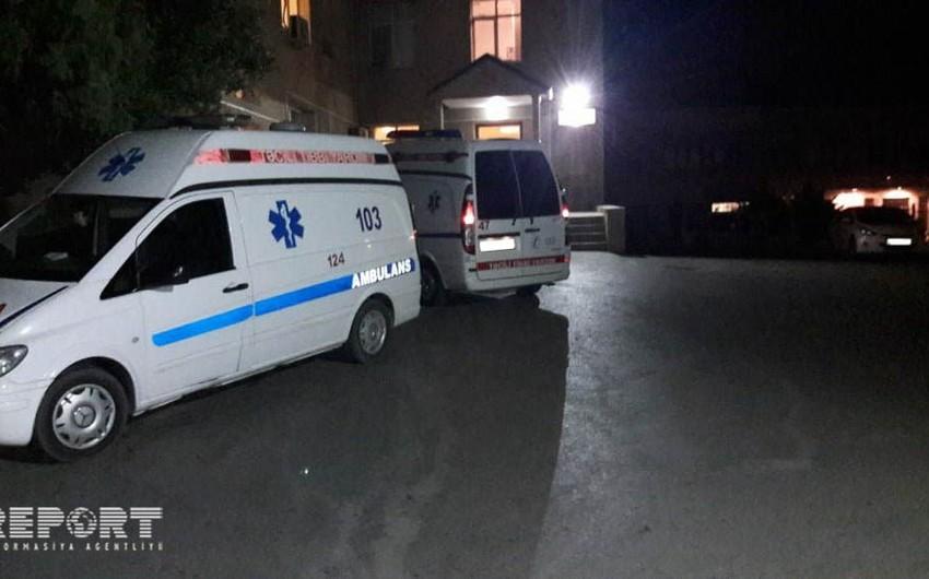 Bakıda maşının aşması nəticəsində bir nəfər xəsarət alıb
