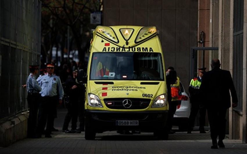 Madriddə noutbukun partlamasından 6 nəfər xəsarət alıb