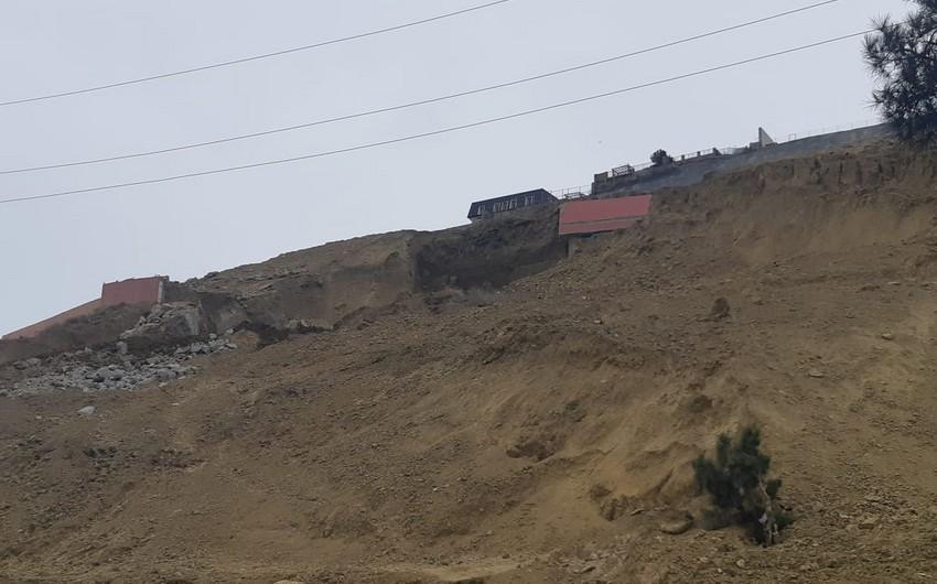 МЧС: В Бадамдаре произошел оползень