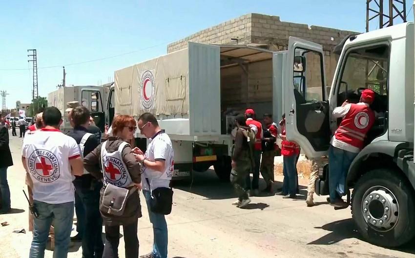 В сирийскую Дарайю впервые за последние 4 года доставлено продовольствие