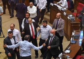 Armenia's Special Investigation Service to investigate parliament brawls