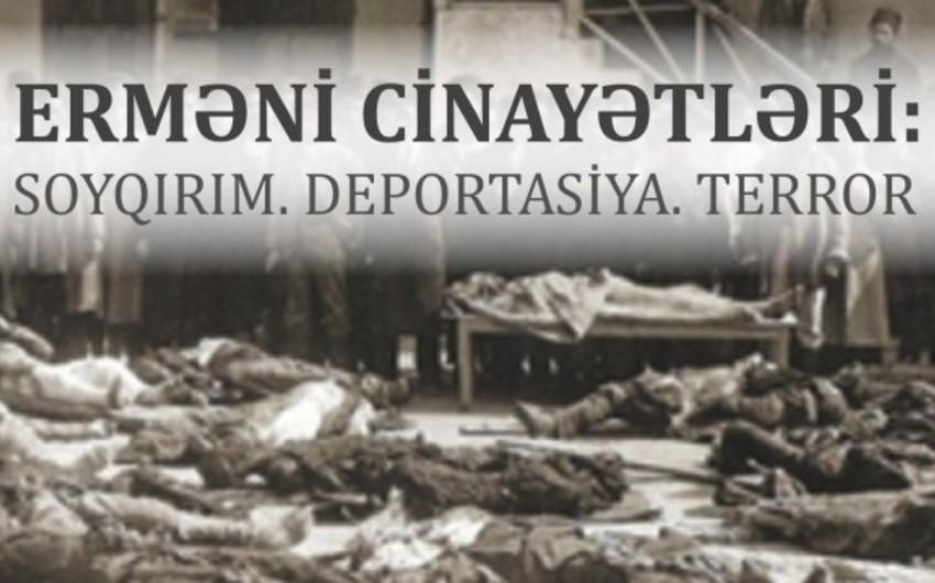 """Prezident Kitabxanasında """"Erməni cinayətləri: Soyqırımı. Deportasiya. Terror"""" adlı elektron nəşr hazırlanıb"""