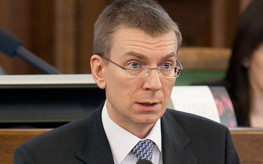 Глава МИД Латвии выступил с предложением отменить визы ЕС для Азербайджана