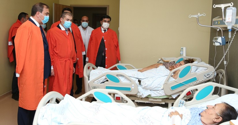 Генконсул Турции навестил пострадавших от теракта в Гяндже