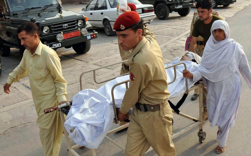 Pakistanda iki kilsə yaxınlığında partlayış törədilib: ölən və yaralananlar var