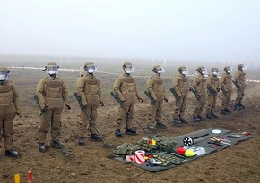Турецкие военные саперы проводят тренировки по инженерному обеспечению