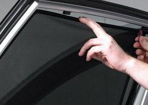 В Азербайджане с завтрашнего дня вступает в силу запрет на использование шторок и жалюзи на машинах