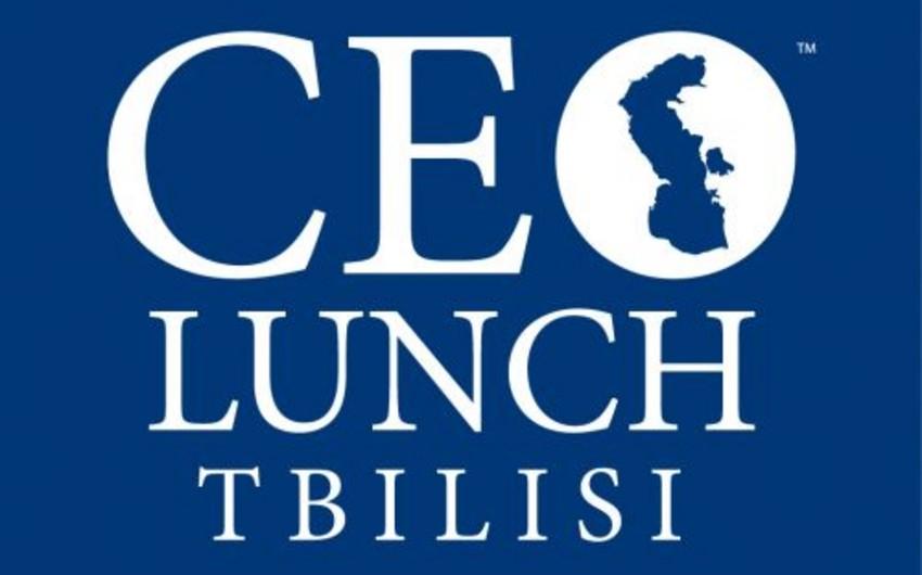 """Azərbaycan-Gürcüstan biznes-forumunun və üçüncü """"CEO Lunch Tbilisi""""nin vaxtı dəyişdirilib"""