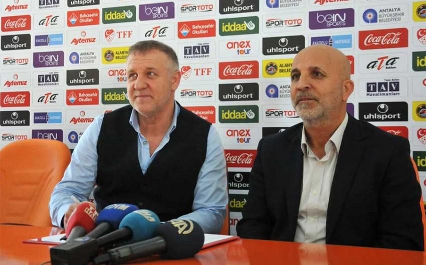 """Türkiyənin """"Alanyaspor"""" komandasına yeni baş məşqçi təyin olunub"""