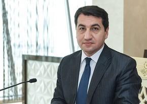 Hikmet Hajiyev: Azerbaijan manifested itself with Europe League final held in Baku  EXCLUSİVE