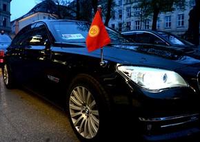 Кортеж президента Кыргызстана попал в аварию, есть погибший