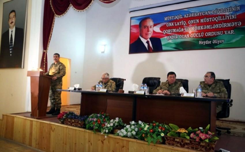 Defense Minister Zakir Hasanov held a collegial meeting - PHOTO