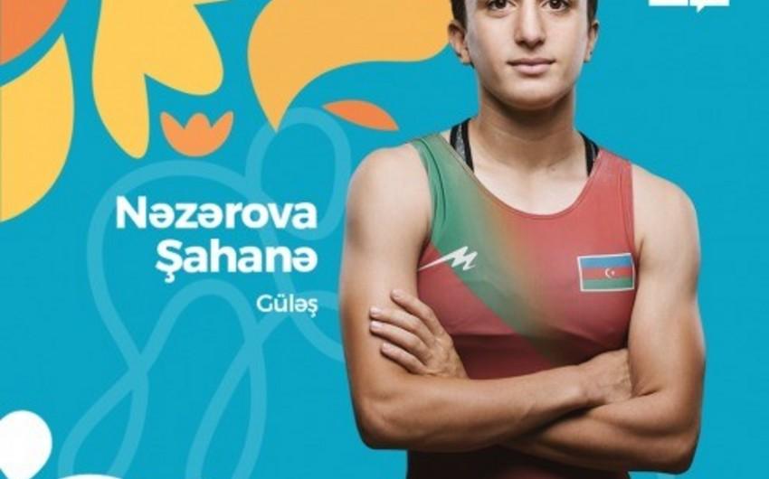Şahanə Nəzərova Olimpiadada bürünc medal qazanıb
