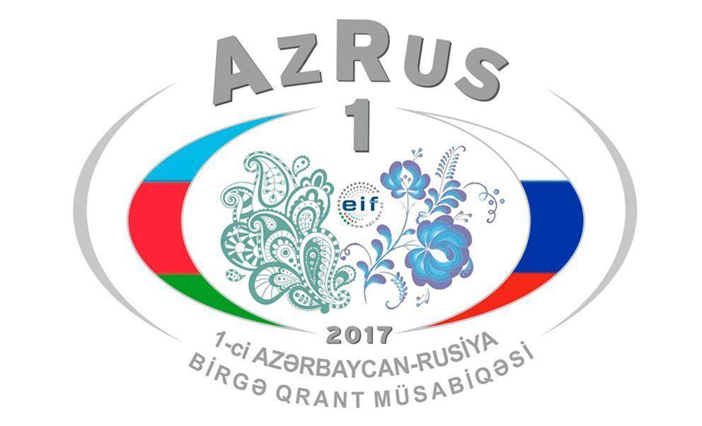 1-ci Azərbaycan-Rusiya beynəlxalq qrant müsabiqəsinin nəticələri açıqlanıb