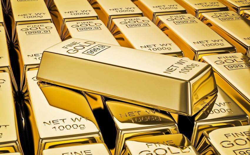 Rusiya Bankı qızıl ehtiyatlarını 2 300 tona çatdırıb