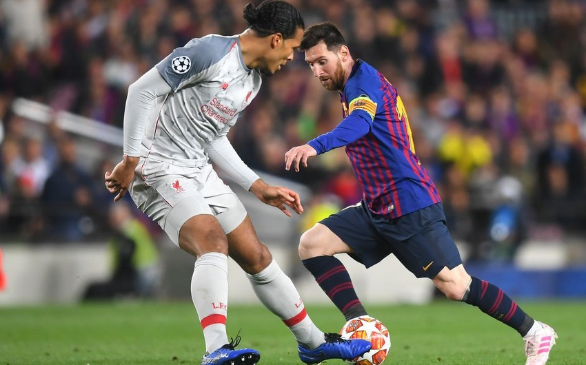 Qızıl top: Messi Van Deyki 7 xal qabaqlayıb