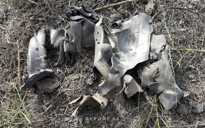 Remains of missile launched by Armenians to Kurdamir