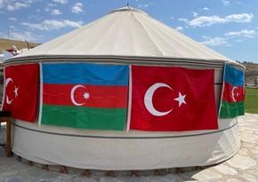 Türkiyədə Azərbaycan mədəniyyət çadırının açılışı olub