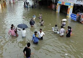 Nepal və Hindistanda daşqınlar nəticəsində 180-dən çox insan ölüb