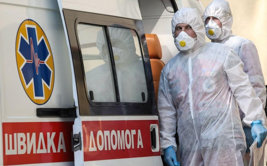 Ukraynada koronavirusa gündəlik yoluxmada rekord qeydə alındı