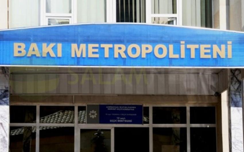 """Bakı Metropoliteni"" tender elan edib"