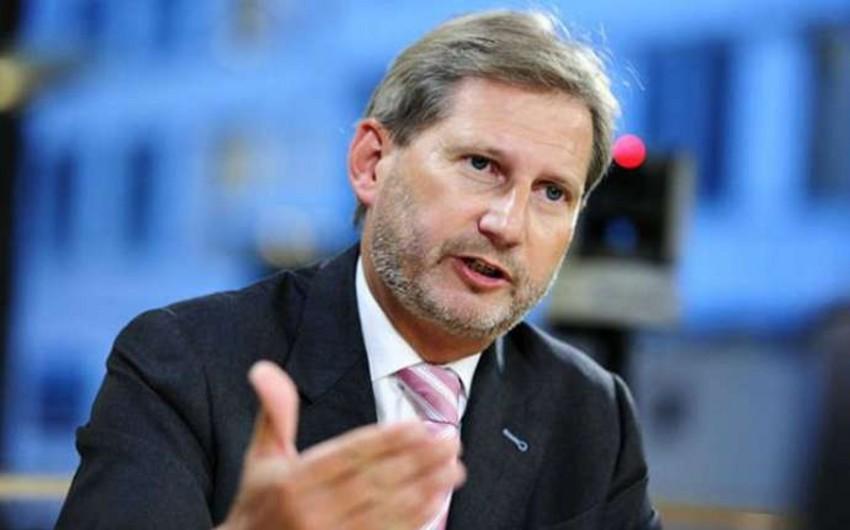Johannes Hahn EU will continue to support Baku port