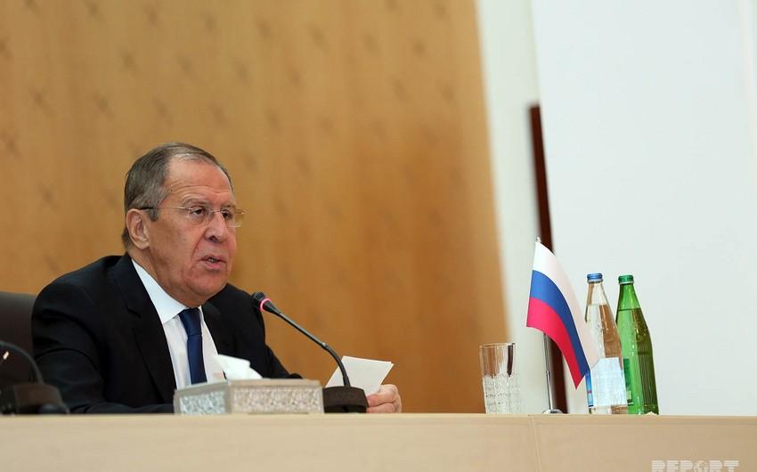 Lavrov: Rusiya ilə Azərbaycan arasında nəqliyyat qovşaqları üzrə çox sıx əməkdaşlıq qurulub