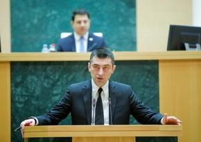 Georgian speaker: Giorgi Gakharia preferred personal interests