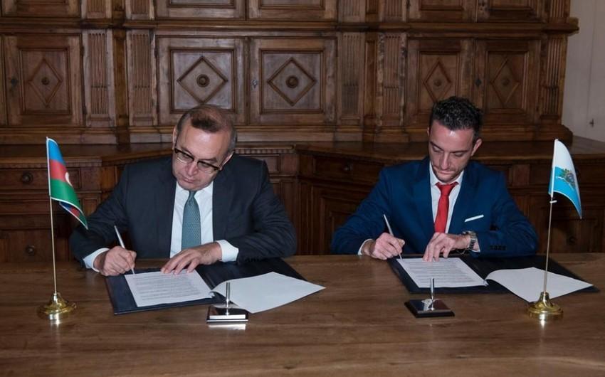 SOCAR подписал меморандум о взаимопонимании с сан-маринской компанией