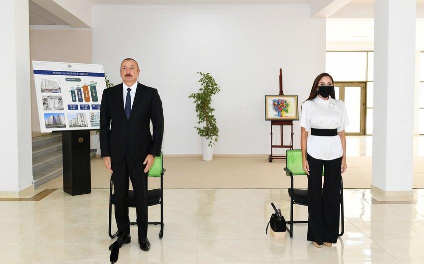 Prezident: Bu gün bu əraziləri bərpa etməklə biz tarixi ədaləti bərpa edirik
