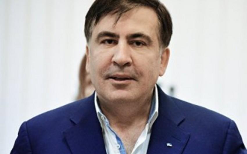 Saakaşvili ukraynalılara Krımı qaytaracağını vəd verib