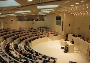Gürcüstanın yeni parlamentinin səlahiyyətləri qüvvəyə minib