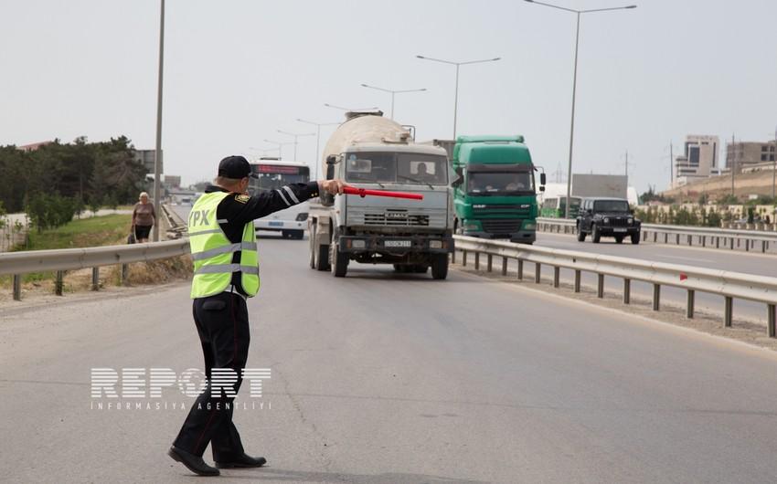 Rayon qeydiyyatında olan avtomobillərin Bakı ərazisinə girişinin qadağan olunmasına başlanılıb - FOTO