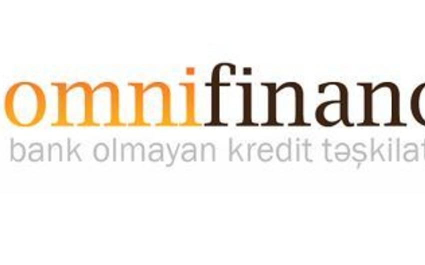 """""""Omni Finance"""" BOKT-nin aktivləri 1% azalıb"""