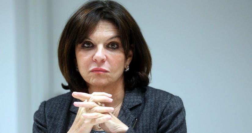 Nathalie Goulet: Many senators won't be able to show Nagorno-Karabakh on map