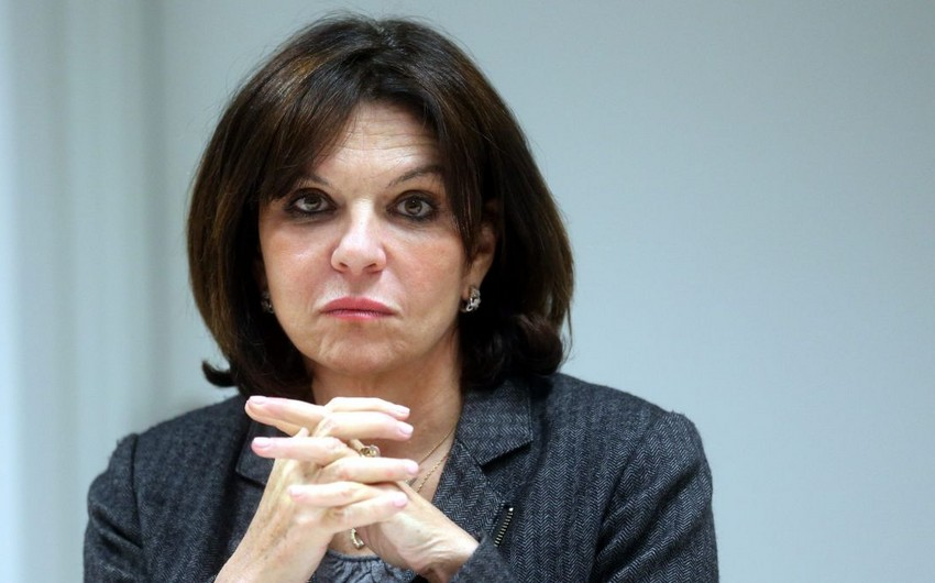 Nathalie Goulet: Many senators won't be able to show Nagorno-Karabakh on map
