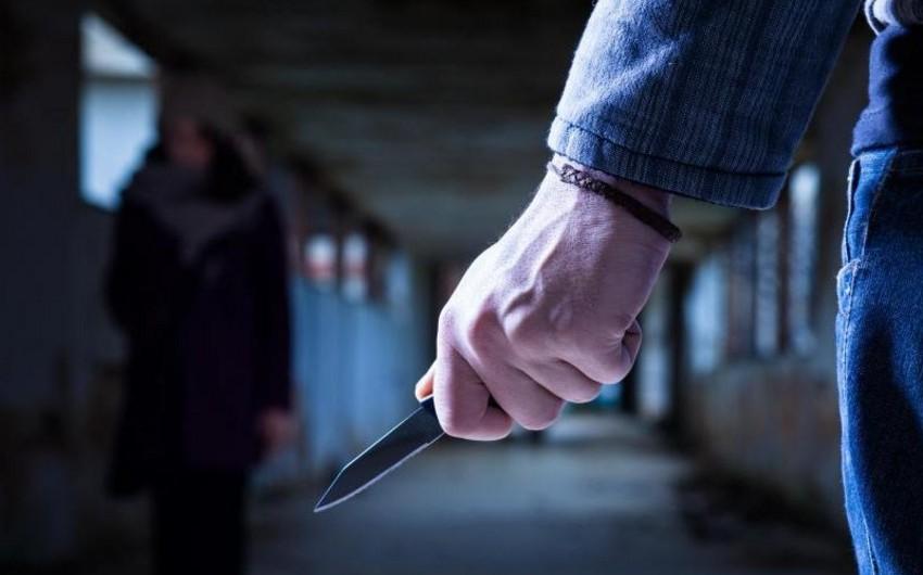 Qazaxda 38 yaşlı qadın bıçaqlanıb