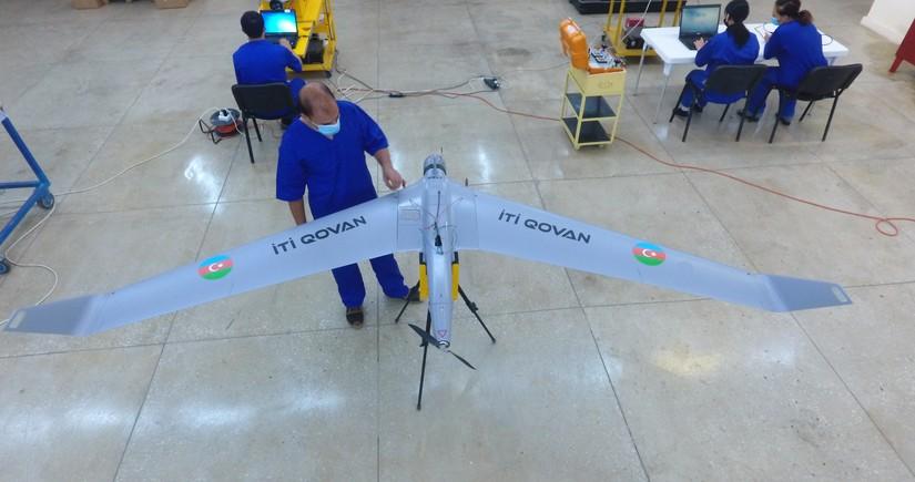 Азербайджан приступил к производству БПЛА серииİti Qovan