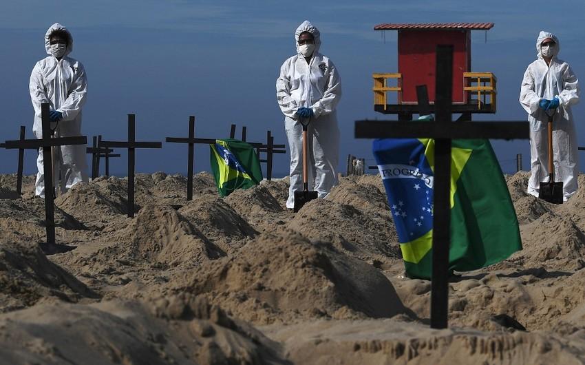 Braziliyada virusdan ölənlərin sayı 94 mini keçib