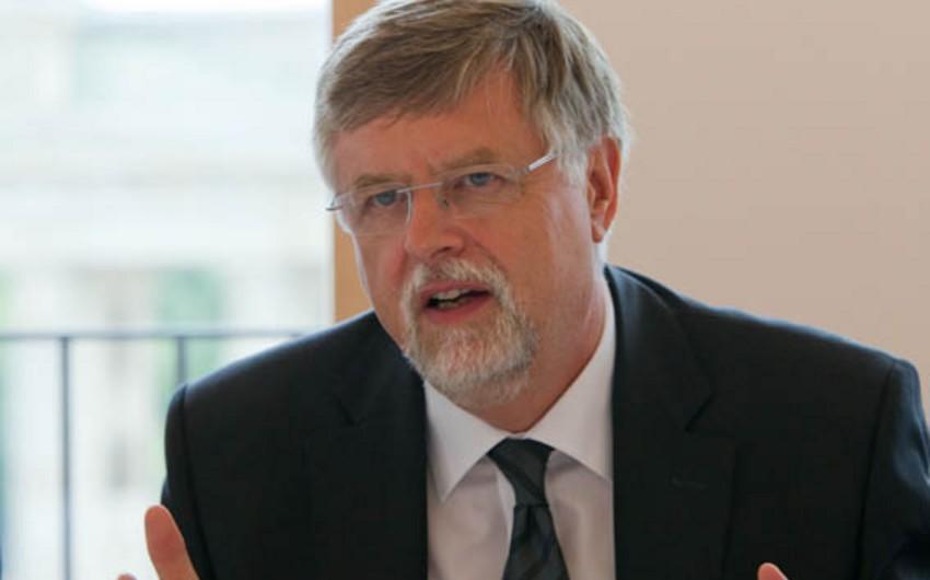 Herbert Salber Azərbaycanın Avropanın enerji təhlükəsizliyinin təmin olunmasındakı rolundan danışıb