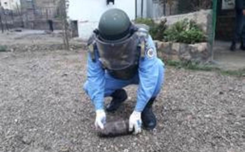 ANAMA: Ötən ay 109 ədəd partlamamış hərbi sursat zərərsizləşdirilib - FOTO