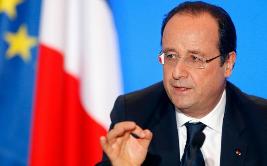 Fransa prezidenti: Tərəfləri sərhəddə və təmas xəttində hadisə törətməməyə çağırırıq