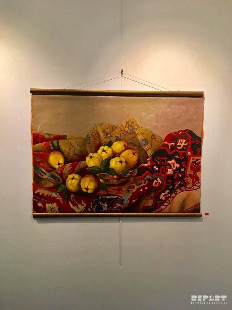 Artworks by Azerbaijani painters displayed in Paris - PHOTO