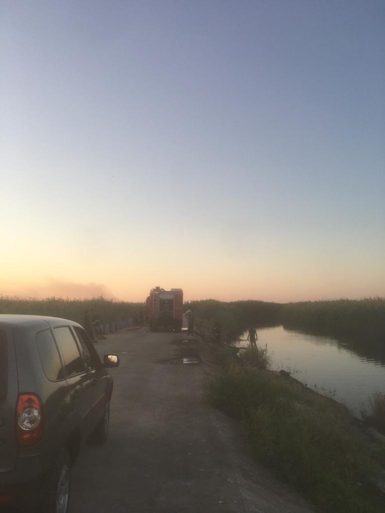 ETSN: Qızılağac milli parkında yanğın davam edir
